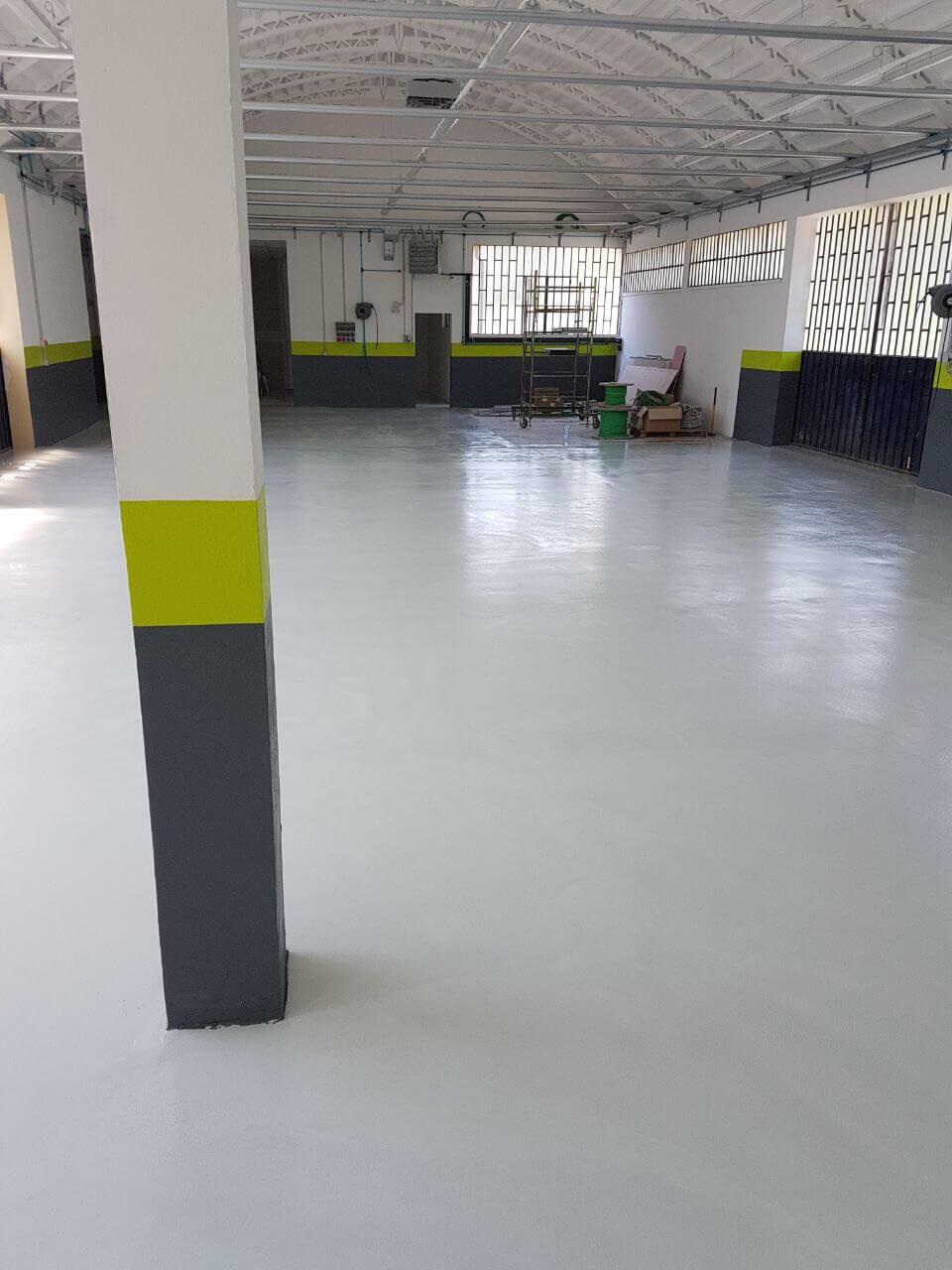 pavimentazione capannone