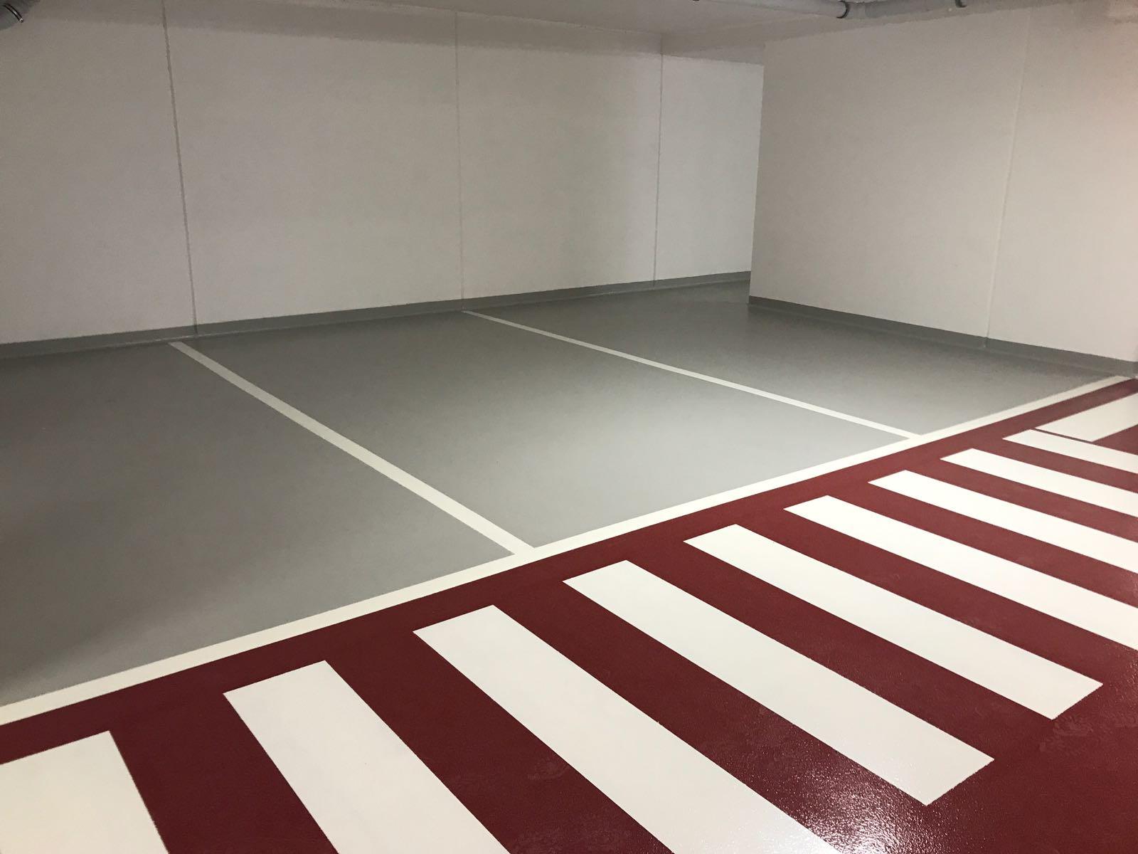 pavimento multistrato parcheggio
