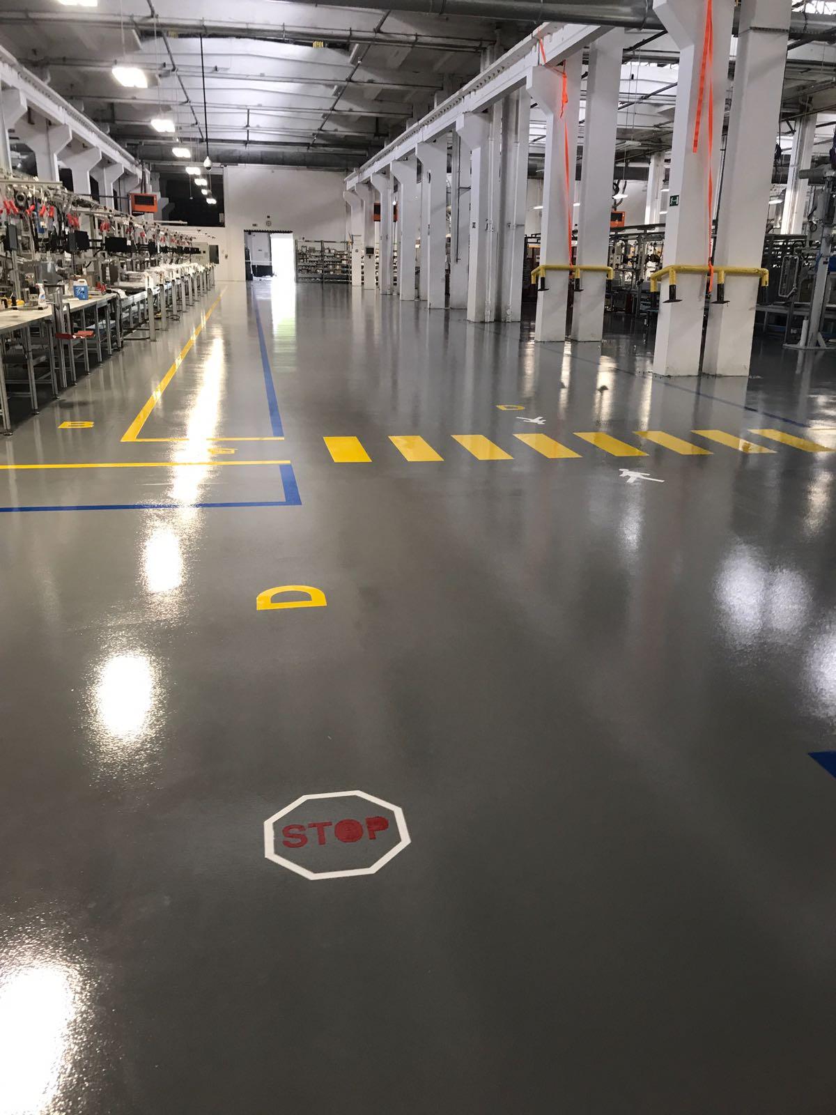 pavimento multistrato industria