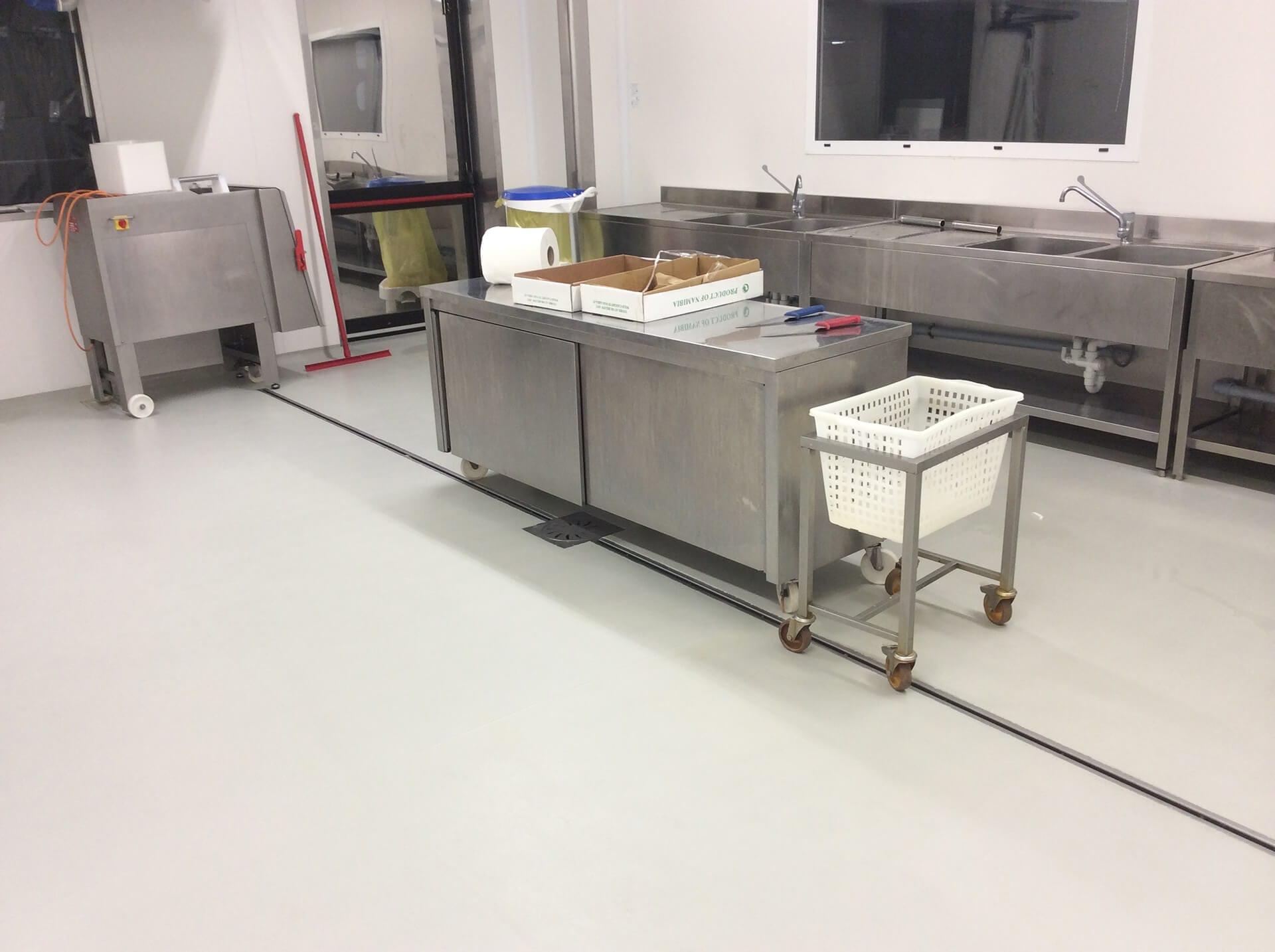 pavimento in resina azienda alimentare