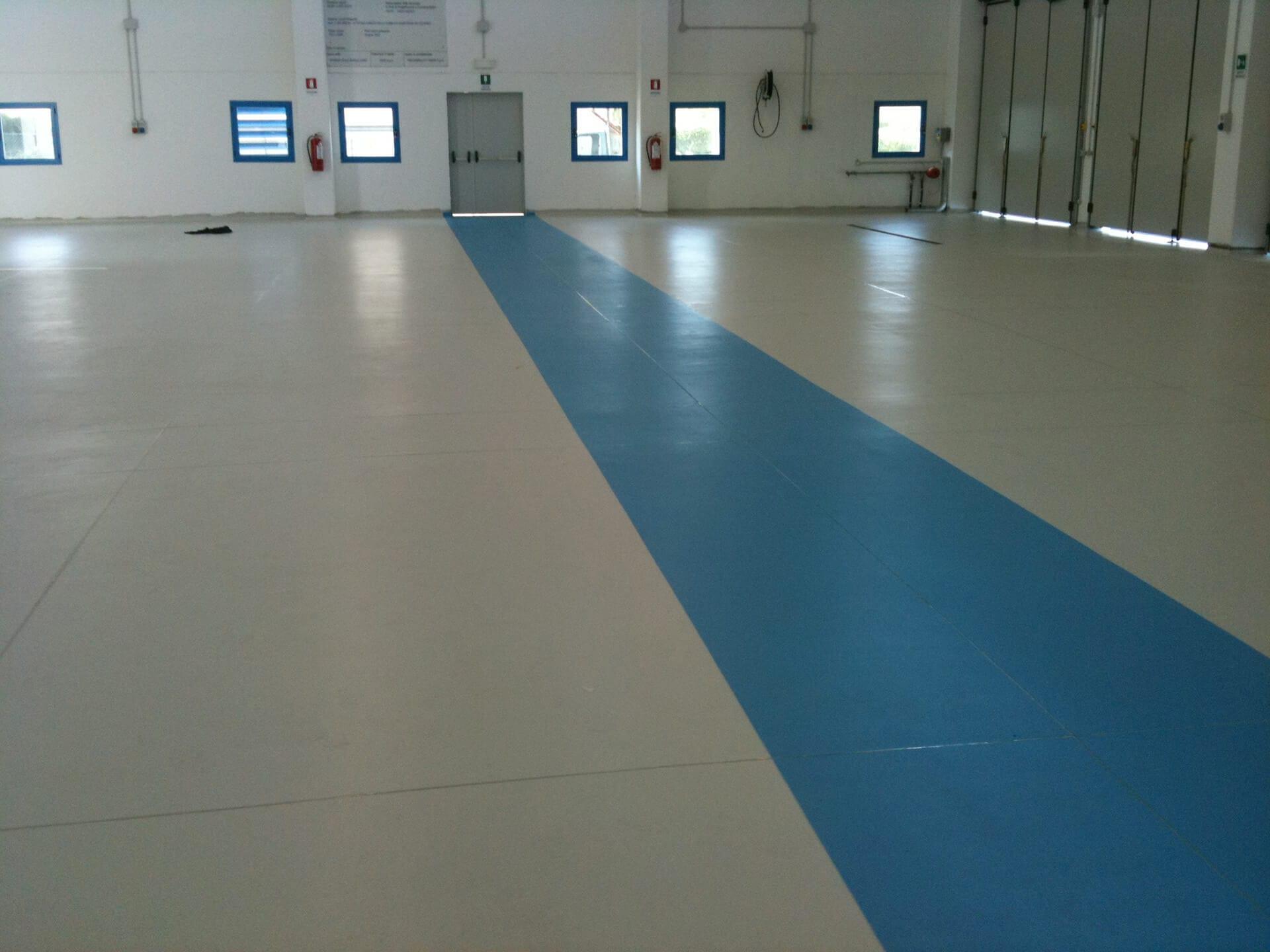 verniciatura pavimento capannone