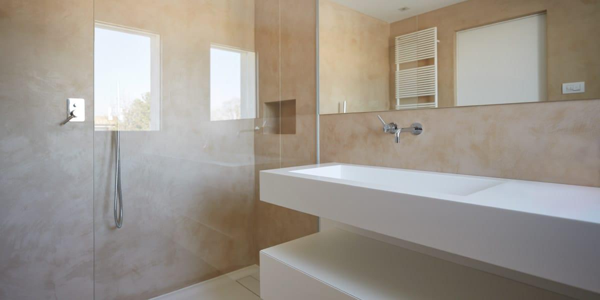 bagno in resina