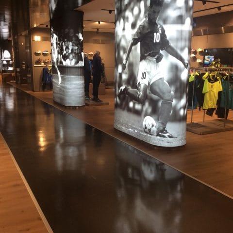 Pavimenti per negozi in resina