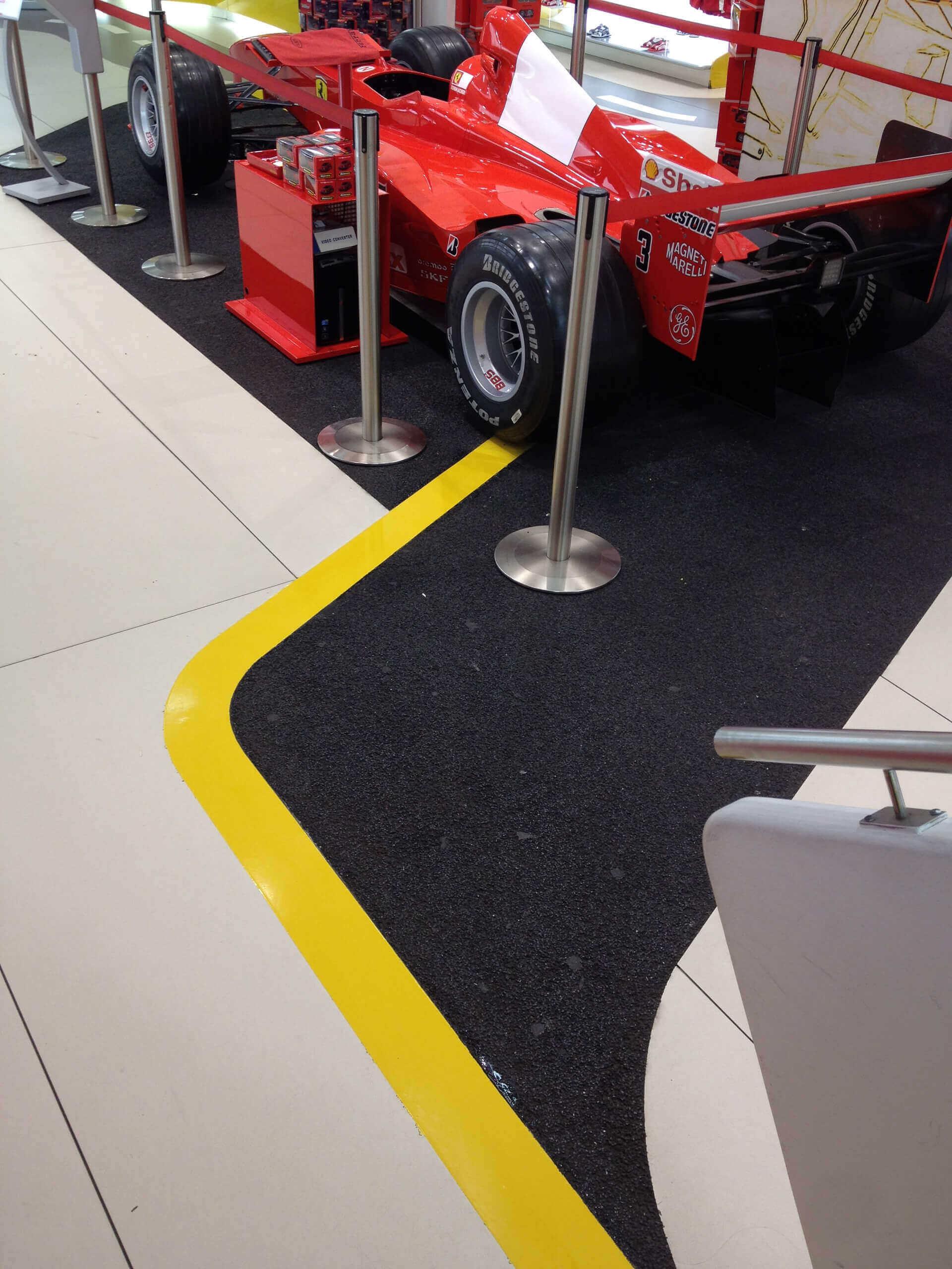 pavimentazione esterna in resina