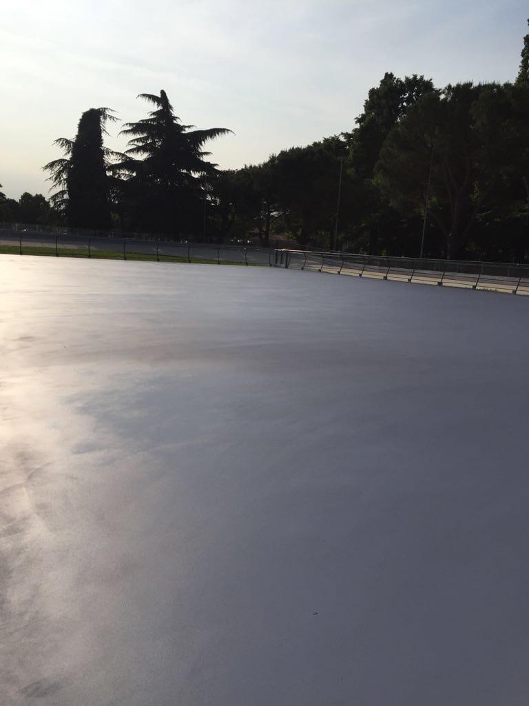 realizzazione pista pattinaggio in resina esterna