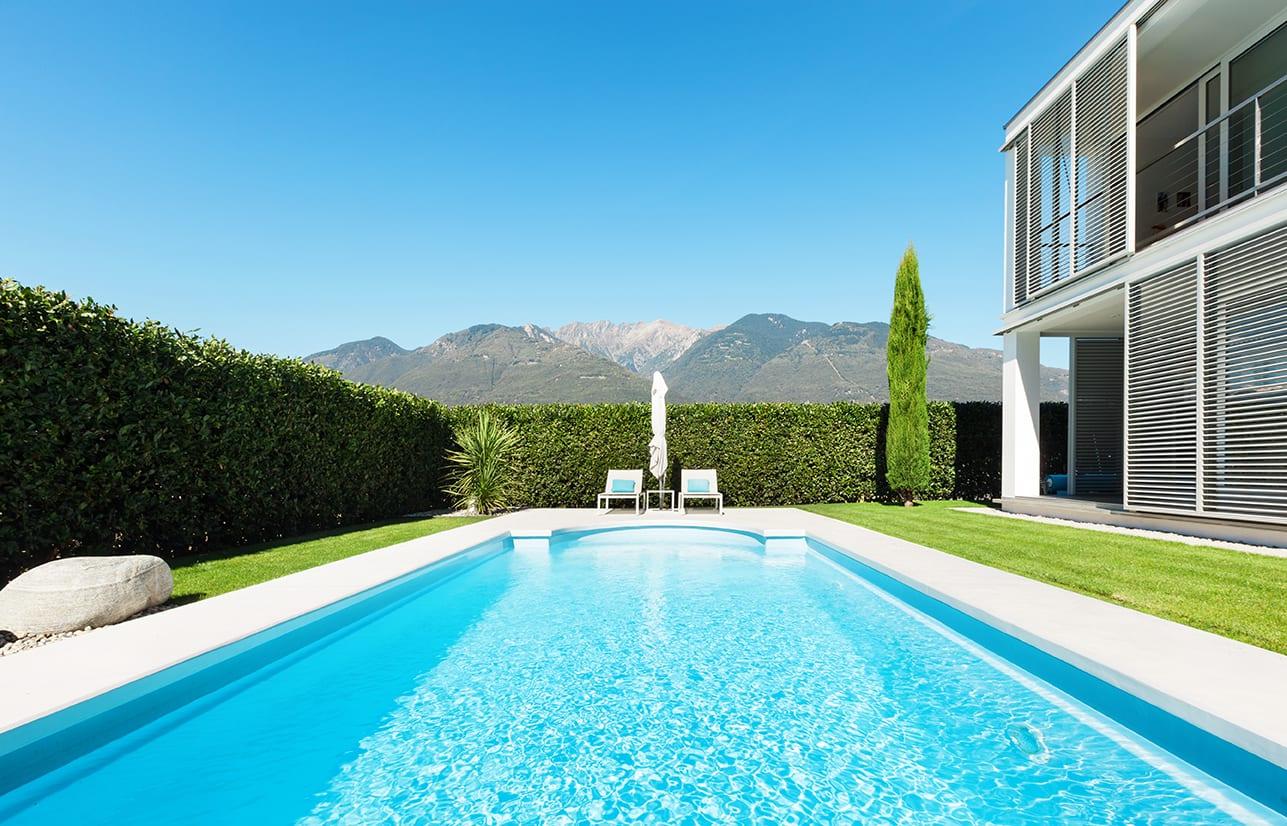 piscine in resina